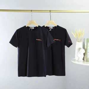 20ss men women tshirts street leisure tees men t shirts short sleeve High-density cotton summer Top-level materials perfect tshirts