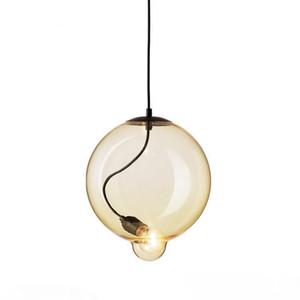 Bubble multicouleur lampes suspendues moderne AC 110V-240V Titiller Chambres Suspension Hôtel Mode Fer LED Hanglamp