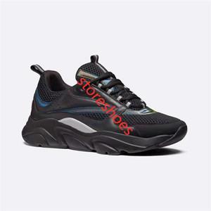 Homme B22 Trainer Sneaker xshfbcl B22 B23 Zapatos de piel de becerro Formadores Hombres top cestas de alta gama viejos zapatos ocasionales de las mujeres plana Zapatillas de