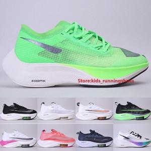 Zoom Alpha Fly Next% Black Electric Green Men Women Running Shoes Air Cushion Volt Betrue Navy Flash Crimson Outdoor Sneakers Size 5.5-11