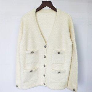 19 Celebrities Wind Pure Color Thick Money Knitting Sweater Cardigan y7 9FR4 OV5X OV5X