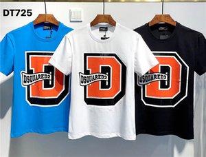 Dsquared2 dsq2  SS20 Nouvelle arrivée Top Qualité D2 Vêtements T-Shirts pour hommes Print street wear T-shirts manches courtes M-3XL DT725