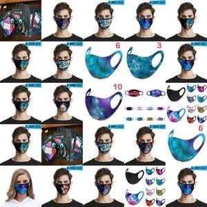 Pale Mauve Sponge Masks 2020 Dust Face Mouth Cover Pm25 Mask Respirator Dustproof Bacterial Washable Reusable Sponge Masks home2010 cIOiq