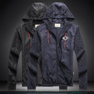 Men's spring coat Spring casual versatile hoodie jacket