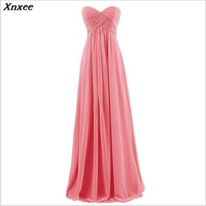 Strapless Chiffon 2020 high-end Women's elegant short gown party proms for gratuating date ceremony gala cocktails dresses up