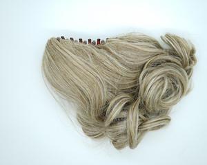 """Aohai sintetico Artiglio ponytail della clip 13"""" onda corta Incredibile Forma vari colori Blonde Disponibile estensioni dei capelli per signora delle donne"""