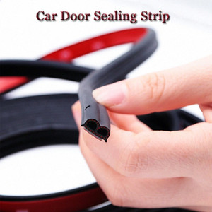Universal 3 Meters Car Door Edge Seal Strips Rubber Weatherstrip Sealing Sticker For KIA Etc. Interior Car Decals Interior Car Decor F iymE#