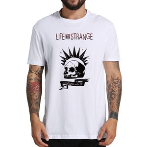 100% Cotton T Shirt Life Is Strange Misfit Skull Vintage Tshirts Homme Hipster Breathable Crew Neck Camiseta Tops