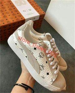 mcm Puma casual shoes 2020 femmes et hommes New Mode Chaussures Casual cuir Sneakers chaussures unisexe étudiants Courir chaussures de haute qualité