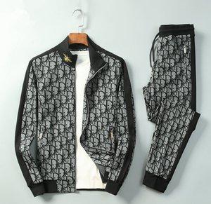 2020 neue Art und Weise Mens Designer Trainingsanzüge Anzüge Luxus-Modemarke für Frühling und Herbst laufen mit Kapuze Tracksuits Anzüge Sets Größen m-3xl