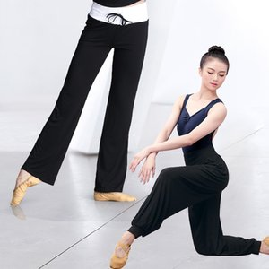 Women Dancing Pants High Waist Wide Legs Loose Yoga Jogging Trousers for Adults Gym Exercises