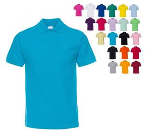 Alta calidad de los hombres adelgazan la camisa de manga cortas con estilo Tops formales ocasionales de los hombres de la manga corta Camisas botones superiores ropa de color negro sólido blanco