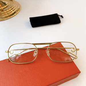 2020 новый дизайн моды CT0112 мужской и женской металлический небольшой полный кадр Frame солнцезащитные очки Revo зеркальные линзы UV400 рецепт коробчатого