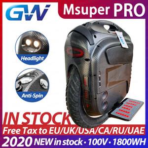 Gotway Msuper 프로 100V 1800wh 스위치 monowheel 최대 19 인치 전기 외발 자전거 자체 균형 스쿠터 2500W 모터 21700 배터리 리프트