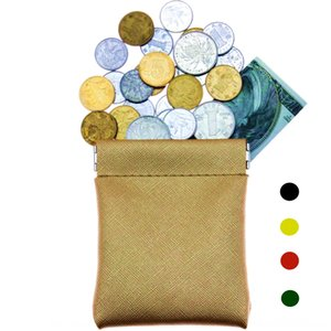Male and female children key bag coin small storage cross pattern pu leather wallet wallet bag novel mini coin purse