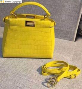 Liujingang3 6802 yellow Top Handles Boston Totes Shoulder Crossbody Belt Backpacks Mini Bag Luggage Lifestyle Bags