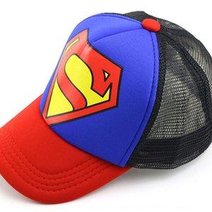cap de rue coréenne enfants à la mode capbaseball capdance casquette de baseball chapeau net Superman chapeau de T934 enfants