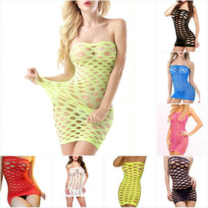 여성의 섹스 속옷 중공 아웃 메쉬 아기 인형 섹시한 란제리 핫 원활한 미니 드레스, 에로틱 한 란제리 섹시 의상