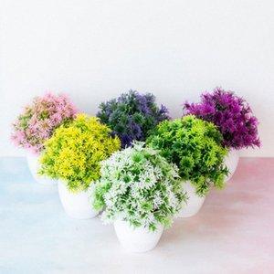 Nuovo realistici artificiali piante bonsai di simulazione di plastica piccolo albero Vaso da fiori in vaso Ornamenti Per la casa Tabella decorazione del giardino Rjjr #