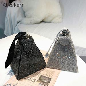 Korean Diamonds Evening Clutch Bags Summer 2020 Dinner Fashion Box Evening Bag Purse Wallets For Fashion Party Ladies Tote Bag Wedding