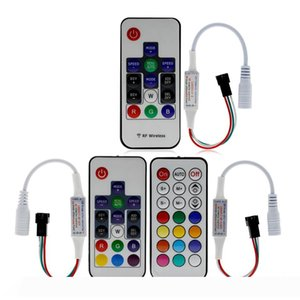 Dream-Color Controller 14 17 21 Keys DIY RF Remote Control DC5V-24V 358 Kinds of Changes Effects For WS2812B WS2811 Strip