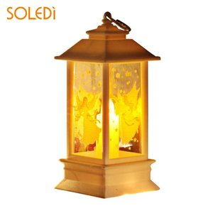 Christmas Flame Light Party Gift Home Decoration Creative Beautiful Wedding Decor Ornament Holiday Candlestick Lamp Night Light
