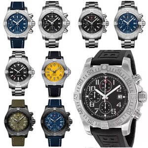 Breitling Neue Art und Weise Super Avenger II 1884 Designer-Uhr bemannt volle Arbeits Luxus mechanisches Quarzwerk automatische Uhr der Uhren aPqg #