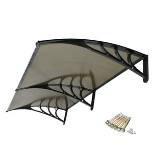 80''x 40'' Window Canopy Awning Polycarbonate Front Door Patio Cover Outdoor