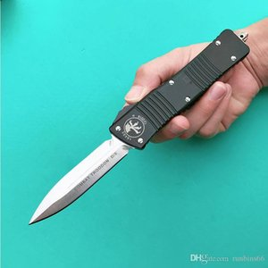 COMBAT Troo-DON E Micro-tech faca dupla ação bolso tático D / faca automática facas M390 Lâmina 6061-T6 trabalhada alça de alumínio