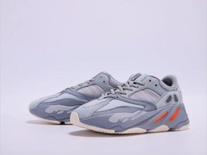Kanye West Inertia 700 V2 Wave Runner Static Mauve Solid Grey Designer Men Women Basketball Running Shoes Fashion Outdoor Sports Sneakers