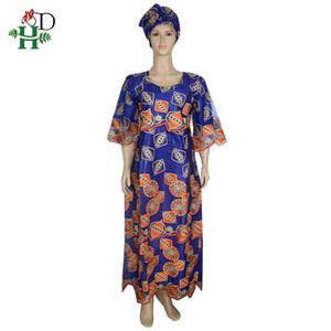 H&D african lace dresses for women traditional african maxi dresses large size lady dress vestido de festa longo para casamento