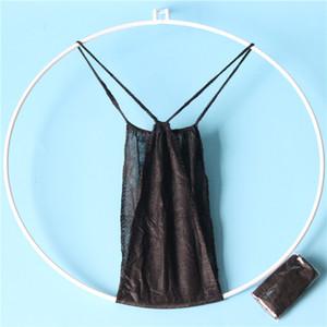 20200713 descartável roupa interior em forma de t calças não-tecidos de papel cueca sauna suor vapor de Mulheres Spa