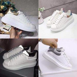 Ig Qualité Ceap Femmes Soes Dener Sneaker Leater Low-Top Courir Formateurs Wit Paillettes Automne La-Up Soes Casual # 773