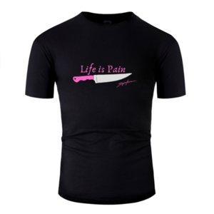 Casual divertido Vital Básico es dolor camiseta Hombre 2019 100% algodón para hombre La luz del sol camiseta anti-arrugas de la novedad del tamaño grande de S ~ 5XL Hiphop