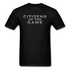 T-Shirt For Men Summer Tshirts Citizens Of The Game T Shirt Mens Tops Tees Letter Fashionable Wholesale Gg Clothes 100% Cotton