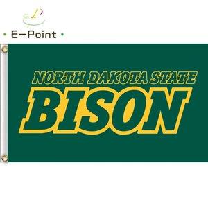 Flag of NCAA North Dakota State Bison polyester Flag 3ft*5ft (150cm*90cm) Flag Banner decoration flying home & garden outdoor gifts