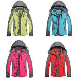 Kadınlar Mountainskin Ceket İlkbahar Sonbahar Su geçirmez Softshell Ceketler Açık Coat Kamp Trekking Yürüyüş Ceket Bisiklet Jersey