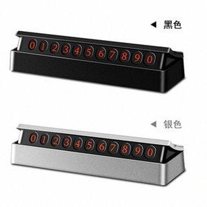 새로운 숨겨진 일시 정지 기호 컴팩트 하이 엔드 대기 절묘한 정지 신호 임시 주차 번호판 x3FD 번호