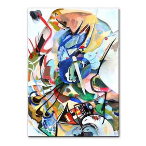 Wassily Kandinsky astratta Canvas Art Paintings Poster e stampe Famosi Artwork riproduzioni pitture murali della decorazione della casa
