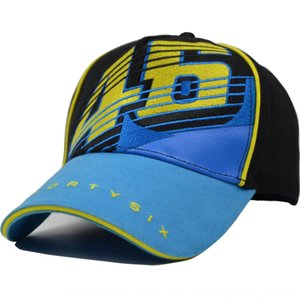 MOTO.GP Rossi big digital signature VR46 embroidery baseball Outdoor sports motorcycle motorcycle racing cap outdoor sports cap
