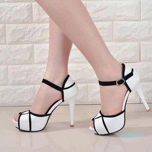 женская обувь сандалии Лучшие качества Высокие каблуки сандалии Тапочки Huaraches Вьетнамки Мокасины башмак для туфель shoe10 PL597 L25