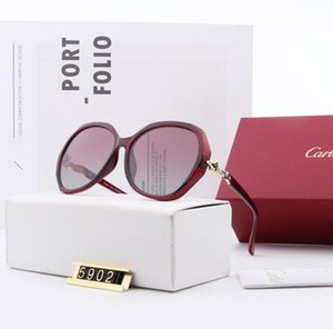 2020 Luxury Fashion Designers Large Metal Sun Glasses For Men Women Glass Lenses UV Protection Sunglasses H1