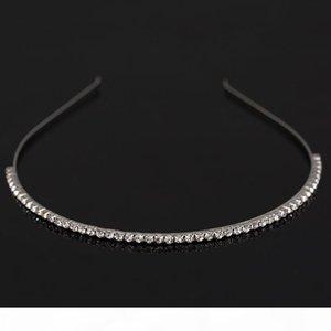 F Fashion Women &#039 ;S Hot New Silver Crystal Rhinestone Hair Band Headband Hair Wear Accessories Free Shipping H029