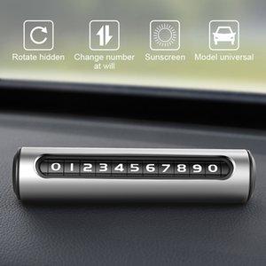 Rotatable Hidden Car Temporary Styling Parking Card Luminous Car Parking Auto Cards Park Stop Automobile Sticker Universal