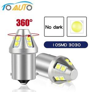 Super Bright 1156 P21W LED BA15S 1157 P21 5W BAY15D LED 10SMD 3030 Chips Car Lights Reserve Signal Light Auto Lamp 12V