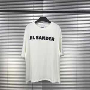 20SS JIL SANDER T Trois Dieux Peinture à l'huile religieuse T-shirt manches courtes Vintage Summer Street Hommes Femmes T-shirt HFYMTX640