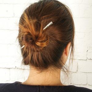 Bar Vintage Hairpins simples Boho Barrettes Femmes Filles Accessoires cheveux pour soirée de mariage de plage Girl Fashion Barette Bijoux Déclaration