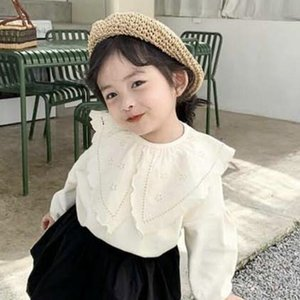 Children's straw-woven 20 summer new Painter's hat beret men's and women's baby's straw-woven beret Korean solid color painter's hat