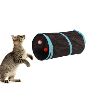 fashion Pet train dog cat tunnel Collapsible passage Cat Toys Training Home Pet Product gift drop ship