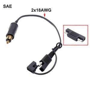 SAE으로 SAE 어댑터 BMW 오토바이에 대한 SAE 배터리 어댑터 커넥터 케이블을 1 개 DIN 화끈 Powerlet 플러그